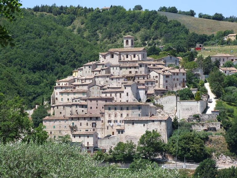 The nine castles of Arcevia in Le Marche